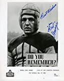 Signed Red Grange Photo - Coa 8x10 Authentic - JSA Certified - Autographed NFL Photos