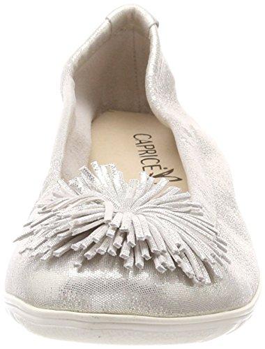 Offwht Donna Bianco Glitter Caprice 112 22116 Ballerine q4xUwIS