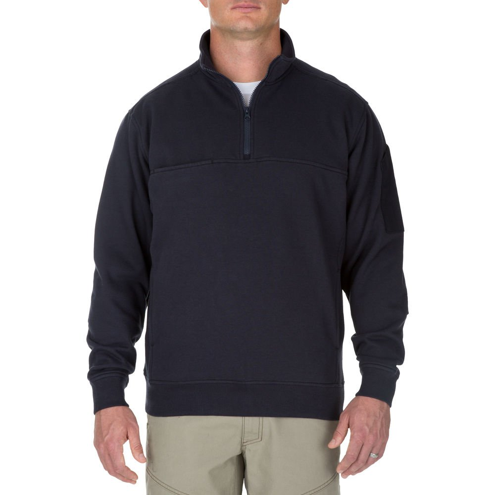 5.11 Camisa de trabajo de manga larga táctica para hombres, resistente a la decoloración y la contracción, bolsillos en el pecho, sin cuello enrollable, estilo 72441
