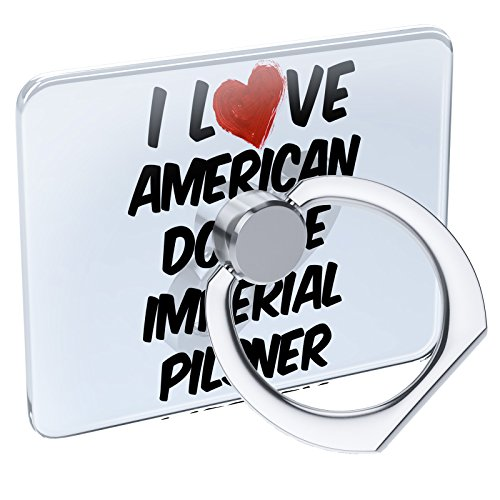 Cell Phone Ring Holder I Love American Double Imperial Pilsner Beer Collapsible Grip & Stand Neonblond