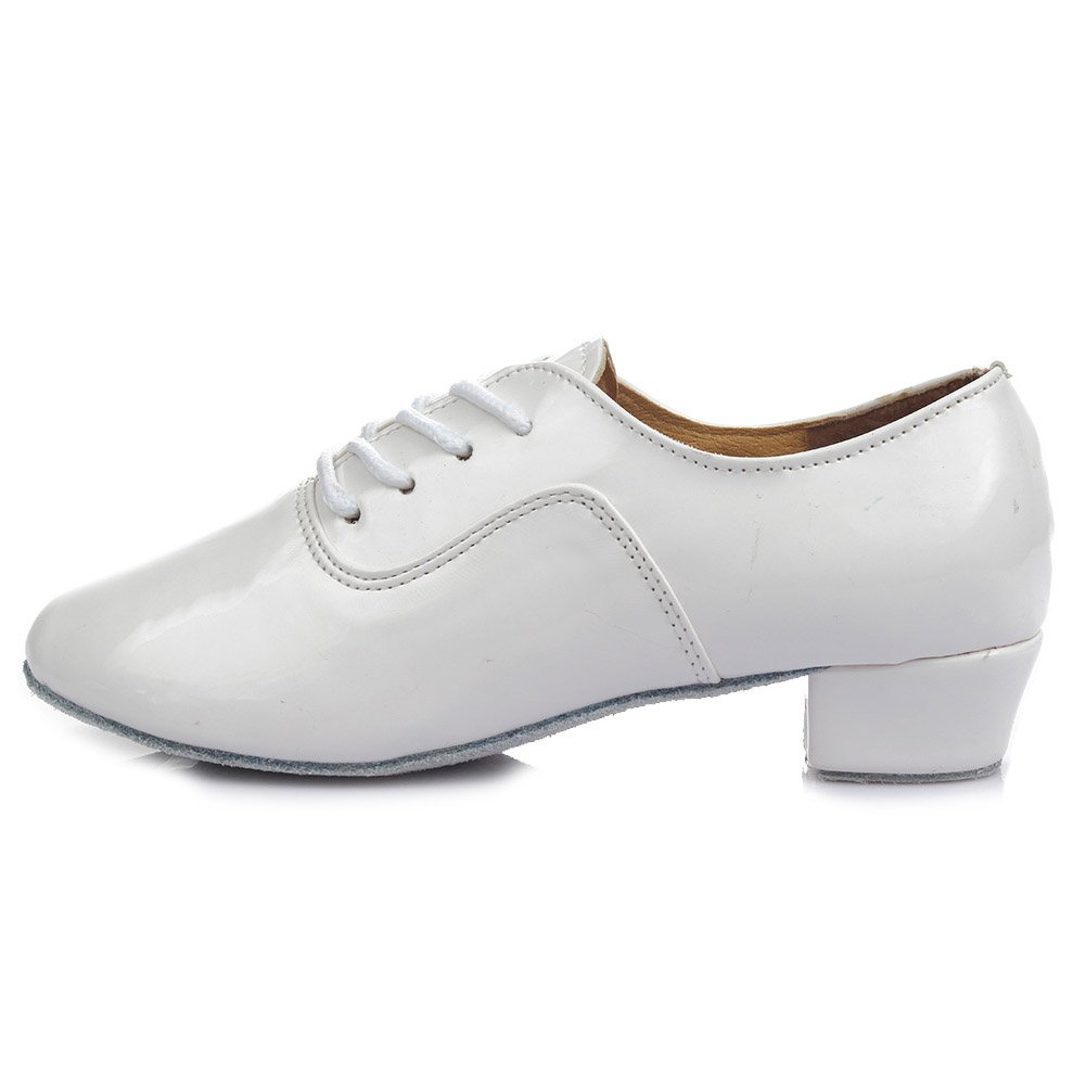 Men's Swing Dance Clothing, Vintage Dance Clothes Roymall Mens Leather Professional Latin Dance Shoes Ballroom Jazz Tango Waltz Performance Shoes $32.99 AT vintagedancer.com