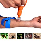 Search : WAEKIYTL Snake Bite Kit, Bee Sting Kit, Emergency First Aid Supplies, Venom Extractor Suction Pump, Bite and Sting First Aid for Hiking, Backpacking and Camping. Includes Bonus CPR face Shield