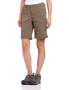 948c45d26f The North Face Horizon Short Femme, Marron, FR : S (Taille Fabricant :