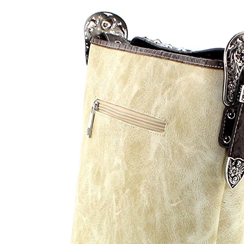 Fashion Boots, Borsa a tracolla donna multicolore osso One size