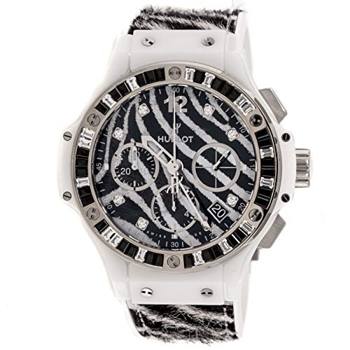 Hublot Big Bang Mechanical (Automatic) Black Dial Womens Watch 341.HW.7517.VR.1975 (Certified Pre-Owned)