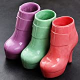 KALAIEN Ladies Boots Shoes Chocolate Candy Mould 3D Fondant Jelly Cake Mold for DIY Home Baking Tool Small