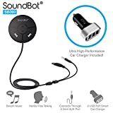 SoundBot SB360 Bluetooth 4.0 Car Kit Hands-Free Wireless...
