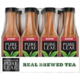Pure Leaf Iced Tea, Raspberry, Sweetened, Real Brewed Black Tea, 18.5  Fl. Oz Bottles (Pack of 12)