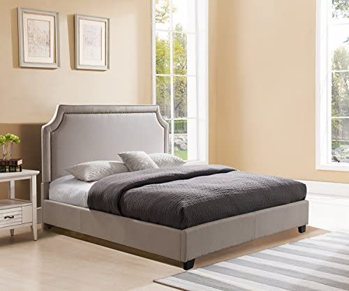Mantua Brossard Upholstered Platform Bed