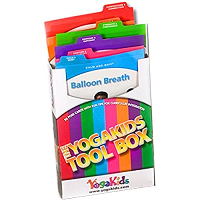 YogaKids Pose Card Tool Box - Tools for Schools: Toys & Games