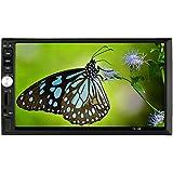 KKmoon 7 Inch 2 Din In-Dash Double-Din Car Radio MP5 Player BT Radio Entertainment Multimedia USB/TF In-Dash FM Aux Input
