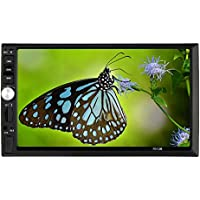KKmoon In-Dash Double-Din High Definition 7.0-Inch USB/SD/MP4/MP3/MP5 Bluetooth Streaming Player Receiver