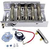 Siwdoy 279838 & 279816 & 3392519 Dryer Heating Element Kit for Whirlpool & Kenmore Dryer