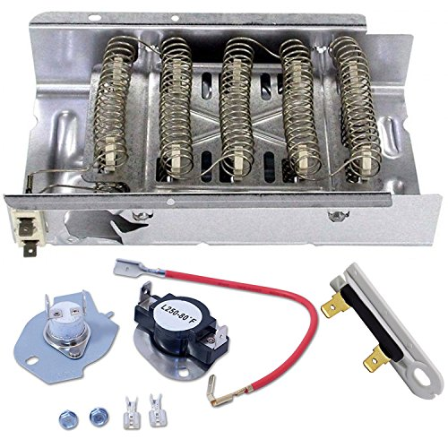 Siwdoy 279838 & 279816 & 3392519 Dryer Heating Element Kit Compatible with Whirlpool Dryer