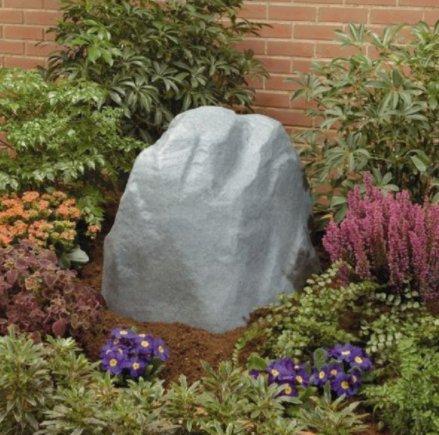 USA Premium Store Fake Landscaping Rock Faux Outdoor Garden Landscape Sprinkler Cover Hidden Decor