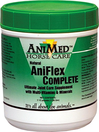 ANIFLEX COMPLETE JOINT CARE SUPPLEMENT FOR HORSES - 2.5 POUND by DavesPestDefense