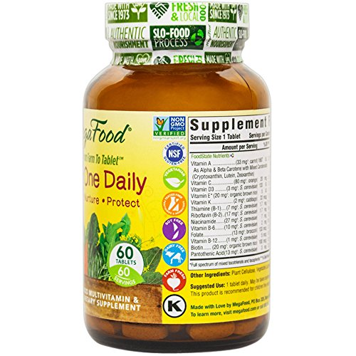 MegaFood - Kid's One Daily, Supports Healthy Growth & Development, 60 Tablets