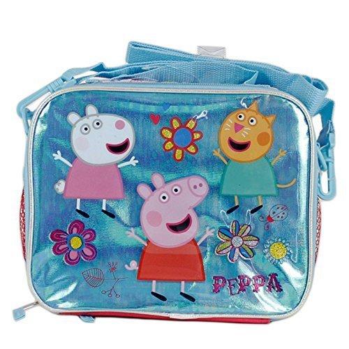 Bolsa de almuerzo – Peppa Pig 3 cerdos nueva escuela funda infantil 109398