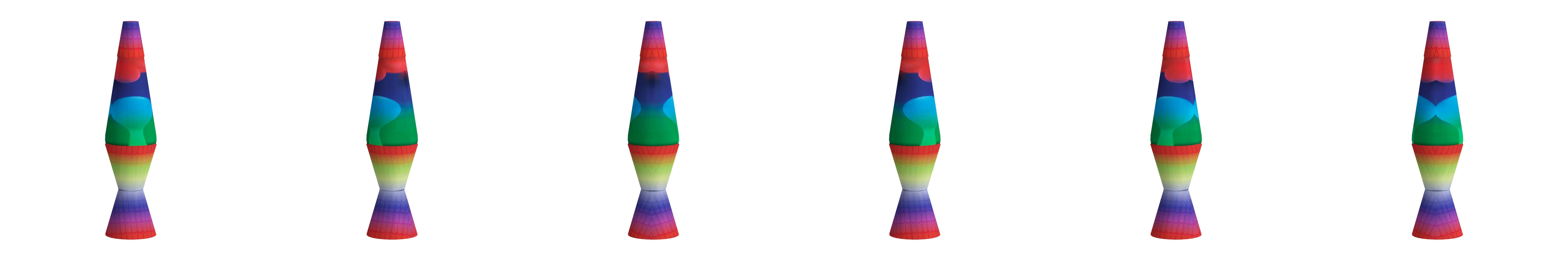 25 Watt Light Lava Lampen Schlafzimmerlampe Sensorische Lichter Color : Purple//Blue Rainbow Lava-Lampen f/ür Kinder