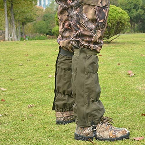 Snake Gaiters -Snake Protection Gaiter for Lower Legs, Hunting Leg Gaiters Waterproof Camping Hiking Training Leggings