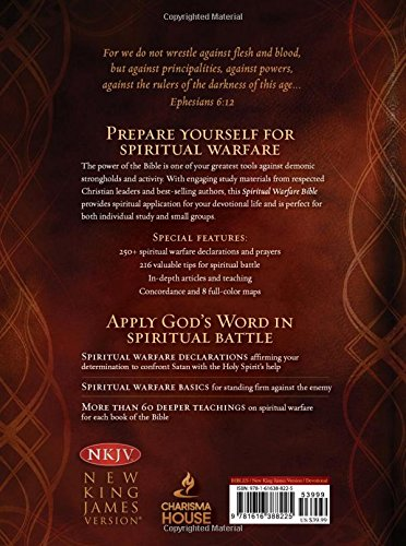 Spiritual Warfare Bible: New King James Version: Passio Faith