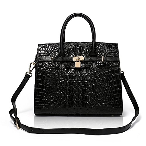 APHISON Designer Unique Embossed Floral Header Layer Cowhide Tote Style  Ladies Top Handle Bags Handbags ( b26facc596f0d