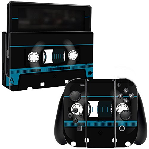 MightySkins Skin for Nintendo Switch - Cassette Tape | Protective, Durable, and Unique Vinyl Decal wrap Cover | Easy to Apply, Remove, and Change Styles | Made in The USA