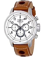 Invicta Mens 16009 S1 Rally Analog Display Japanese Quartz Brown Watch