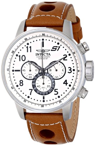 invicta watches brown dial - 4