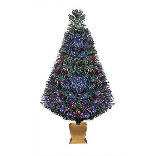 Holiday Time 32 Inch Green Fiber Optic Christmas Tree - Amazon.com: Holiday Time 32 Inch Green Fiber Optic Christmas Tree