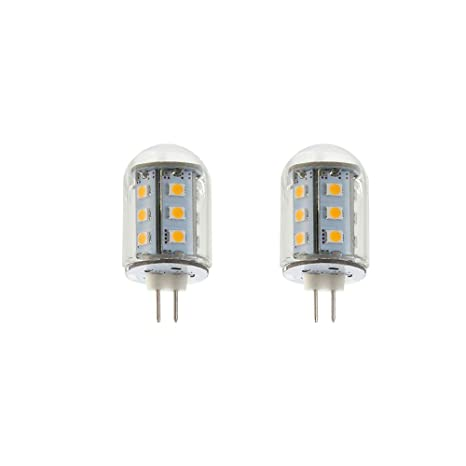 Makergroup T3 G4 Bi Pin Led Light Bulbs 12vac Dc Low Voltage 2watt Warm White 2700k 3000k For Outdoor Landscape Lighting Path Lights Deck Lights