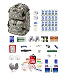 Extreme Survival Kit Two For Earthquakes, Hurricanes, Floods, Tornadoes, Emergency Preparedness