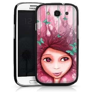Carcasa Design Funda para Samsung Galaxy S3 i9300 / LTE i9305 HardCase black - Sally and the Butterflies