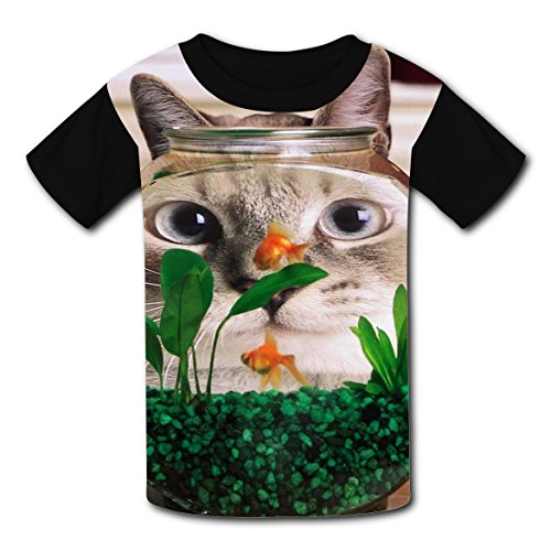 Make Your Own Tank Girl Costume (O-Neck New Cute Tee Shirt 3D Make Your Own With Humor Cat For Unisex Kids M)