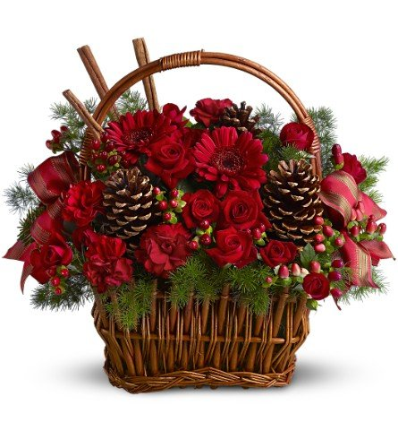 Chicago Flower Co. - Holiday Spice Basket - Fresh and Hand Delivered