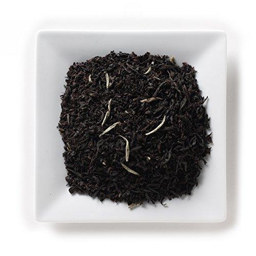 Ceylon Tea White (Mahamosa White Tip Earl Grey Tea 8 oz - Loose Leaf Black Tea and White Tea Blend (with Ceylon black tea, Chinese silver needle white tea, bergamot flavor))