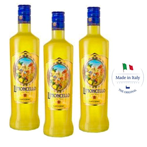 Traditional Italian Limoncello - ancient recipe (Box 3 bottles) by Dolceterra (Image #2)