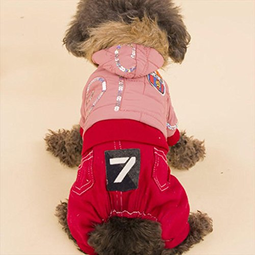 [Q@QQ Pet dog puppy cowboy badge feathers fall and winter clothes , b , 12# (chest 34cm)] (Target Cowboy Dog Costume)