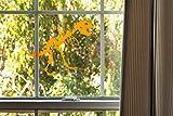 Cricut Decorative Window Cling, Orange