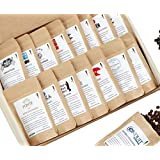 Bean Box World Coffee Tour Gourmet Sampler - (16 roasts, specialty whole bean coffees aroud the world)