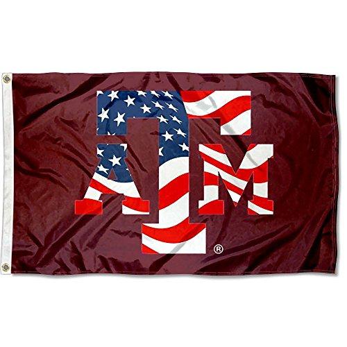 (Texas A&M USA Flag Patriotic College Flag)