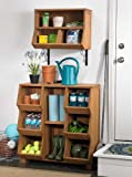 Stackable Wooden Cubby Storage Unit