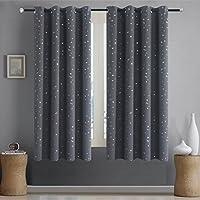 Alice Brown Romantic Starry Sky Creative Blackout Window...