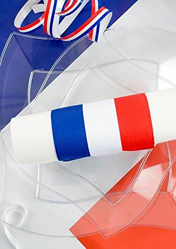 58b17b74b400 SANTEX 4058-0, Echarpe du Maire de 8 cm x 2 mètres, tricolore