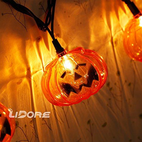 String Lights Qatar : LIDORE multiple sting lights-1 (Pumpkin) Home Garden Decor Seasonal Holiday Decorations