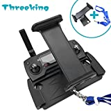 Mavic Pro Mavic Air Spark Holder Mount Threeking DJI Mavic Pro / Mavic Air / Mavic Platinum / Spark Holder with Neck Strap,Aluminum-Alloy Foldable Extendable 4-12 Inches Phone / Tablet Holder