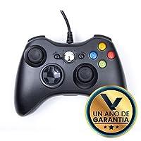 Control Alámbrico Compatible XBOX 360 Color Negro