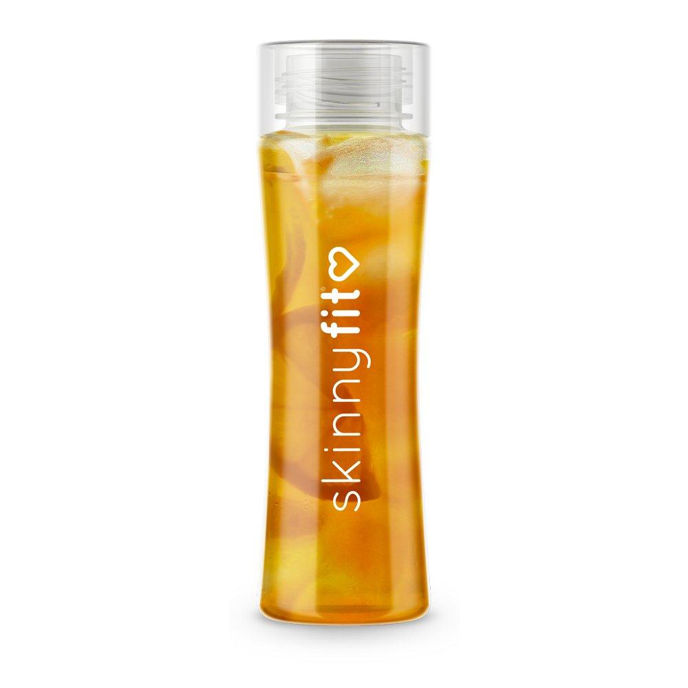 SkinnyFit 24oz Detox Bottle, BPA-Free Leak Proof Water Bottle for Travel, Fitness, Outdoor, Gym or Sports