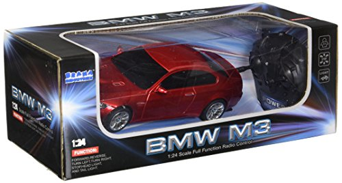 Braha Full Function Remote Control 1:24 Scale BMW M3- Red BMW M3 REDD, Red