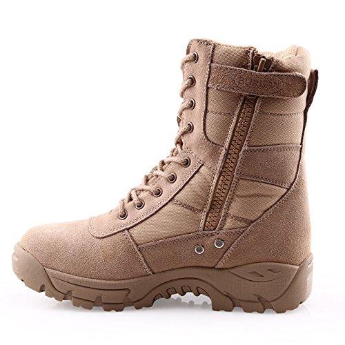Burgan 888 All Terrain Tactical Size Zip Boot (unisex) Beige / Sabbia